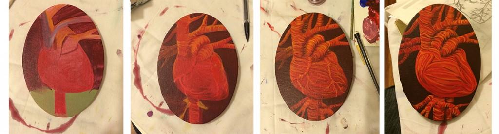 the heart in progress